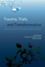 Cover of: Trauma, trials, and transformation