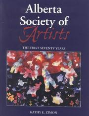 Cover of: Alberta Society of Artists | Kathy E. Zimon