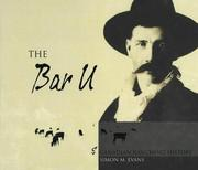 Cover of: The Bar U & Canadian ranching history