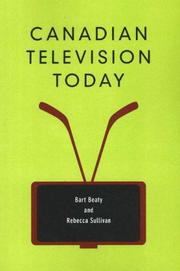 Cover of: Canadian Television Today | Bart Beaty