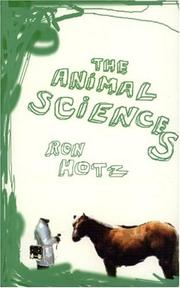 Cover of: The Animal Sciences, The | Ron Hotz