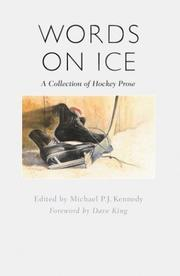 Cover of: Words on ice |