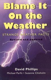 Cover of: Blame it on the weather