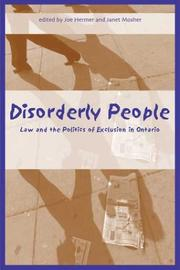 Cover of: Disorderly People |
