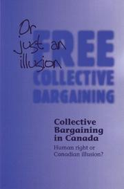 Cover of: Collective bargaining in Canada