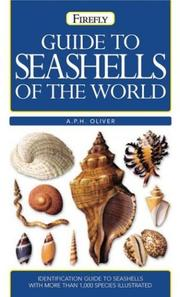 Cover of: Guide to seashells of the world | A. P. H. Oliver