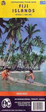 Cover of: Fiji Islands Map | ITMB