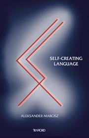 Cover of: Self-Creating Language