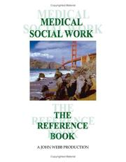 Cover of: Medical Social Work
