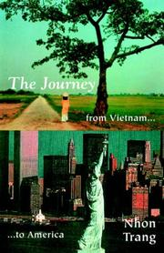 Cover of: The Journey From Vietnam to America | Nhon Trang