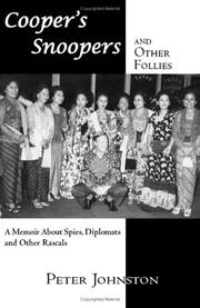 Cover of: Cooper\'s Snoopers and Other Follies