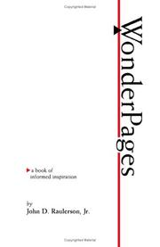 Cover of: Wonderpages | John D. Raulerson, Jr.