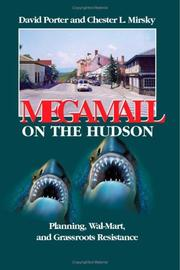 Cover of: Megamall on the Hudson | David Porter and Chester L. Mirsky