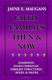 Cover of: Faith Families Then and Now
