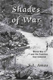 Cover of: Shades of War