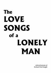 Cover of: The Love Songs of a Lonely Man