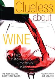Cover of: Clueless about wine