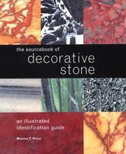 Cover of: The Sourcebook of Decorative Stone | Monica T. Price