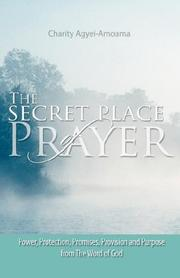 Cover of: The Secret Place of Prayer