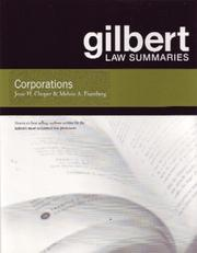 Cover of: Corporations (Gilbert Law Summaries) | Jesse H. Choper