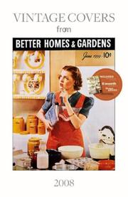 Cover of: Better Homes & Gardens Vintage Covers |