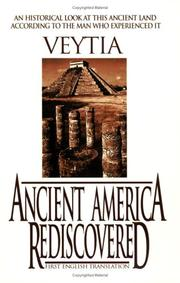 Cover of: Ancient America Rediscovered |