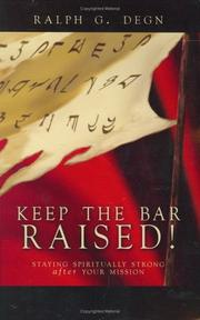 Cover of: Keep the Bar Raised