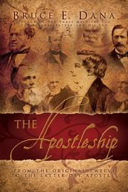 Cover of: The Apostleship
