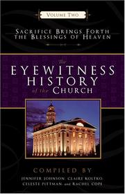 Cover of: Eyewitness History of the Church |