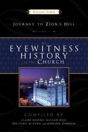 Cover of: The Eyewitness History of the Church Vol. 3 | Claire Koltko