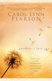 Cover of: Good-Bye, I Love You