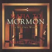 Cover of: Mafia to Mormon in My Own Words