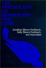 Cover of: The Psychology of separation and loss