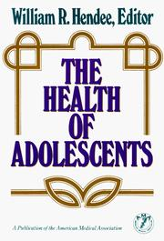 Cover of: The Health of adolescents |