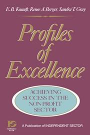 Profiles of excellence by E. B. Knauft