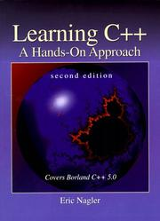Cover of: Learning C++