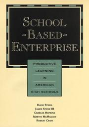 Cover of: School-based enterprise