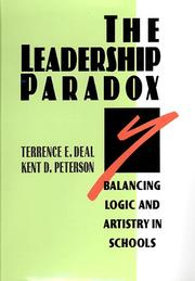 Cover of: The leadership paradox | Terrence E. Deal
