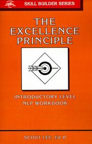 Cover of: The excellence principle