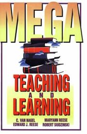Cover of: Mega-Teaching and Learning | C. Van Nagel