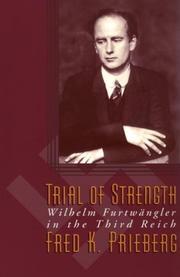 Cover of: Trial of Strength