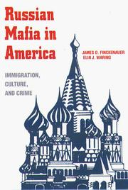 Cover of: Russian mafia in America