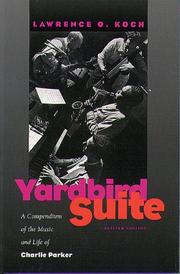 Cover of: Yardbird Suite | Lawrence O. Koch