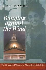 Cover of: Running against the wind