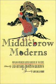 Cover of: Middlebrow Moderns