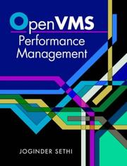 Cover of: OpenVMS performance management