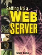Cover of: Setting up a Web server