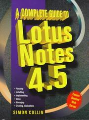 Cover of: A complete guide to Lotus Notes 4.5