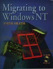 Cover of: Migrating to Windows NT