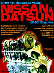 Cover of: How to rebuild your Nissan/Datsun OHC engine